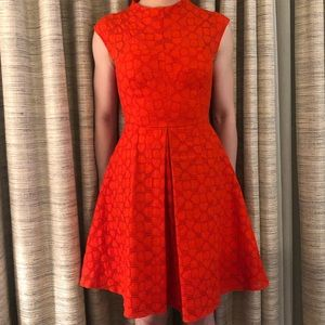 Milly Fit Flare Valentines Day Cocktail Dress